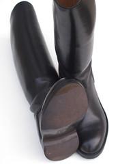 Bottes Police Réf. 032 (karlofficier) Tags: bottes cuir police paraboots leather boots leder stiefel stivali francese