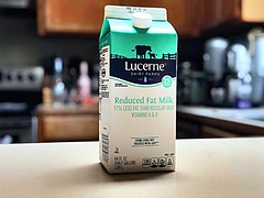 Day 14: Milk Carton (Thunderstormnightmare) Tags: march spring white pictureschallenge photochallenge challenge unlimitedphoto portrait kitchen drink milkcarton unlimitedphotos