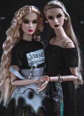 (bybarnsdolls) Tags: lilithsmokeandmirrors lillithsmokeandmirrors eden integritytoys nuface jasonwu fashionroyalty fashiondolls dolls