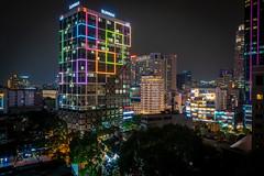 Ho Chi Minh City, Saigon, at Night (Frank KR) Tags: saigon vietnam asia asien nightshot longexposure hochiminh