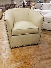Sally Swivel Chair (Brian's Furniture) Tags: norwalk furniture market 2019 spring brians westlake ohio 44145 westside cleveland premarket high quality american made lifetime warranty springs frame cushion core unlimited choices options customizable rocky river bay village upholstered built order locally shop local usa sally swivel chair nailheads