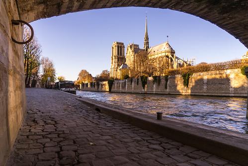 Notre Dame, framed #Paris