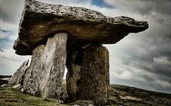 The Burren #2 (madmtbmax) Tags: ireland ire irish landscape travel worthtravelling reise luminar nikon d850 poulnabrone dolmen grave tomb stoneage burren nationalpark rock stone manmade history ancient