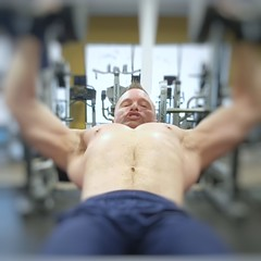 incline chest (ddman_70) Tags: shirtless pecs abs muscle gym workout chest treasuretrail