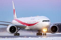 80-1111 Boeing 777-3SB(ER) Japan Air Self-Defence Force (JASDF) (Andreas Eriksson - VstPic) Tags: jf11departingarlandabackhometochitoseairbase japan 801111 boeing 7773sber air selfdefence force jasdf