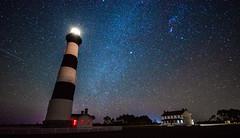 Bodie Island Lighthouse (zachclarke) Tags: lighthouse northcarolina outerbanks obx night milkyway stars sky nightsky january 2019 nikon d5600 nikond5600 zachclarke2 zachclarke nc eastcoast beach darksky bodieislandlighthouse bodieisland nagshead bodie