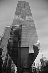 Amazing this building does not fall over - Chicago 2019 (James J. Novotny) Tags: d750 nikon chicago downtown unlimitedphotos bw blackandwhite