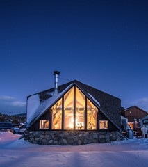 A Cabin in the Snow (Peter Alfred Hess) Tags: rockymountains rockies mountains winter snow cabin aframe architecture silverthorne colorado unitedstatesofamerica us