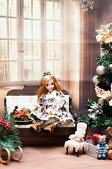 Sonya (GlamLadyDollstudio) Tags: dolls dollsoutfits dollfashion dollclothes dollhouse dolcollection ooakdoll christmas