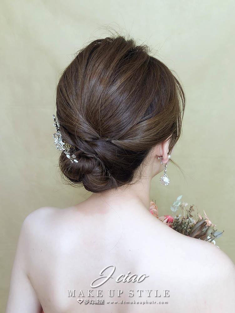 【新秘婕喬】新娘造型創作 / 經典盤髮