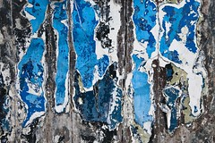 Étude de décrépitude (Gerard Hermand) Tags: 1902127082 gerardhermand france paris canon eos5dmarkii abstrait abstract abstraction door porte bois wood peinture paint