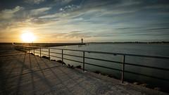 Sonnenaufgang in Travemünde. (ThP.Photography) Tags: travemünde mole sonnenaufgang sommer baltic sea ostsee canon5d schleswigholstein leuchtturm haida hafen clouds water wolken mare