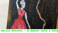 Immagine - donna, ballerino, pop art, pittura moderna (NajlepszySklep) Tags: paintingwoman marcindolecki painting art modernpaintings popart originalpainting girl woman