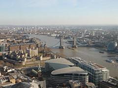 View of Tower Bridge, Tower of London etc. from the Sky Garden (John Steedman) Tags: london uk unitedkingdom england イングランド 英格兰 greatbritain grandebretagne grossbritannien 大不列顛島 グレートブリテン島 英國 イギリス ロンドン 伦敦 skygarden walkietalkie towerbridge toweroflondon