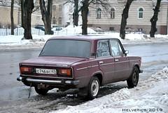Lada 2106 - Russia, Leningrad (Helvetics_VS) Tags: licenseplate russia leningrad oldcars lada 2106