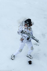 Flagset Snow Queen Shirley (edwicks_toybox) Tags: 16scale boots femaleactionfigure flagset girlswithguns military rifle shirley snow snowqueen