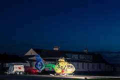 G-SCAA EC135, Scone (wwshack) Tags: egpt night psl perth perthairport perthshire scone sconeairport scotland gscaa scotlandscharityairambulance scaa