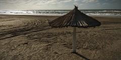 Marzo... (mavricich) Tags: mar agua water sea seascape quincho paja sol amanecer océano ocean atlántico costa coast argentina pinamar