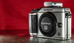 Olympus Pen E-PL2. (CWhatPhotos) Tags: cwhatphotos olympus four thirds 43 epl2 silver digital camera photographs photograph pics pictures pic picture image images foto fotos photography artistic that have which with contain artistc art pen epl flickr penpal pp1 bluetooth transmitter blue tooth hotshoe mount hot shoe
