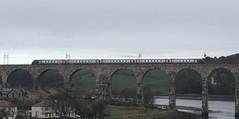 Cross Country Trains Class 221 (02/04/2019) (CYule Buses) Tags: royalborderbridge eastcoastmainline voyager arriva crosscountrytrains class221