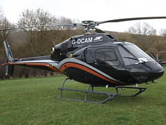 G-DCAM Eurocopter AS.355-NP Helicopter (GB Helicopters Ltd) (Aircaft @ Gloucestershire Airport By James) Tags: cheltenham helipad gdcam eurocopter as355np helicopter gb helicopters ltd egbc james lloyds