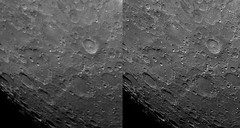 Moon (Alex) : Tycho and Clavius (1/2) (Club Astro PSA) Tags: astro astronomy astronomie astrophoto astrophotography moon lune sky ciel night nuit cratere telescope telescop lens photo copernicus resolution topaz sharpen stabilize detail detailed zoom stacking video film wavelet stacked stack celestron c8 tycho clavius