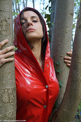 Red nudity (31 pics) (sexyrainwear_dot_online) Tags: raincoat rainjacket rainmac rainwear raingear regenmantel regenjacke regnjakke regnjacka sadetakki ciré cire imper imperméable impermeable chubasquero capadechuva レインコート 비옷 regntøj rubberboots rainboots gummistiefel wellies