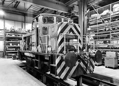Lesley (R~P~M) Tags: train railway diesel locomotive 01 ruston depot shed aylesbury arriva chilternrailways bucks buckinghamshire england uk unitedkingdom greatbritain