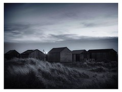 Sheds in the dune (connorjacobs1) Tags: apsc dslr eastcoast coast village fishingvillage fisherman fishing building shed old architecture landscape eastanglia norfolk wintertononsea winterton nightphotography sigma1750mm canoncamera 70d eos canon