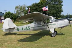 G-AJAS (GH@BHD) Tags: gajas austeraircraft auster j1n alpha austerj1nalpha tibenhamairfield tibenham aircraft aviation