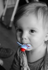 150118 pectO 190115 © Théthi (thethi: pls read my first comment, tks) Tags: enfance enfant people bonheur sucette tututte silicone bruxelles brussels belgique belgium bw nb cutout photoshopped faves35