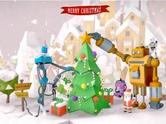 JulFrukost (Matt_Connors) Tags: googleblocks virtualreality robot holiday santa tree