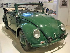 Police Beetle Cabrio (Schwanzus_Longus) Tags: museum automuseum prototyp hamburg german germany old classic vintage car vehicle cabrio cabriolet convertible topless police polizei law enforcement volkswagen vw beetle bug typ type 18a 18