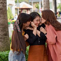 Friends | Saigon Vietnam [Flickr Explore] (Paul Tocatlian | Happy Planet) Tags: kiss saigon hochiminhcity vietnam vietnamesegirls candid candidphotography street streetphotography happyplanet asiafavorites friends friendship