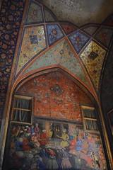 iran dec 18 (83) (gerboam) Tags: iran islamic republic december 2018 wall painting decorative figurative plants flowers birds people gold blue red