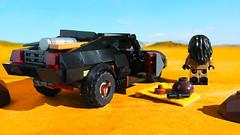 Lego Interceptor V8 from Mad Max Fury Road (hachiroku24) Tags: lego mad max fury road moc interceptor black car vehicle instructions movie