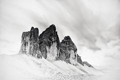 Massiv IV (sleachim) Tags: dreizinnen trecime dolomites dolomiten dolomiti alps alpen mountains bnw monochrome longexposure