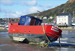 Thelma (Elaine 55.) Tags: barmouth boats beached