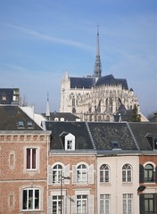 Amiens Cathedral (roomman) Tags: 2019 france ault bois de cise boisdecise hike hiking walk walking trail nature landscape village coast sea water atlantik atlantic channel church amiens catehdral building holy