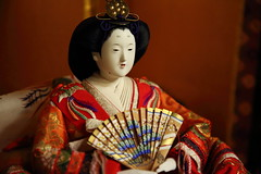 Antique doll of Japan (Teruhide Tomori) Tags: japan japon kyoto tradition culture 日本 京都 伝統 文化 雛人形 雛飾り antique doll toy hinadoll