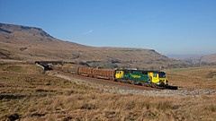 007 - Licensed To Fill In (Richie B.) Tags: 6j37 general electric powerhaul class 70 70007 flhh freightliner colas rail ais gill cumbria settle and carlisle railway
