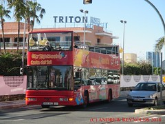 "2018 030706 MAN NL223F SERCAR O47-22D OPENTOP DOUBLEDECK BUS  2001 Malaga Tour City Sightseeing Costa Del Sol 4846 BKZ IN BENALMADINA (Andrew Reynolds transport view) Tags: europe spain andalucia transport bus coach transit passenger omnibus diesel ""mass transit"" 2018 030706 man nl223f sercar o4722d opentop doubledeck 2001 malaga tour city sightseeing costa del sol 4846 bkz in benalmadina"