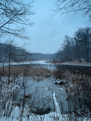 The end of a Winter storm at Muriel Hepner (Dave Landry) Tags: seasons murielhepner winter flickr newjersey denville landscapes unitedstates places morriscounty wintertime