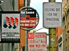 Circulating Narratives (Robert Saucier) Tags: sanfrancisco sfo panneauxsignalétiques signs img6162 rue street streetart streetscene