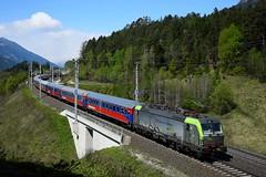 475 404, Sdz 13495, Pusarnitz (M. Kolenig) Tags: 475 bls tauernbahn sonderzug wald berg wiese