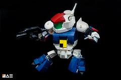 LEGO SD VIFAM (STICK KIM) Tags: roundvernian 80s mecha chibi sd robot moc lego