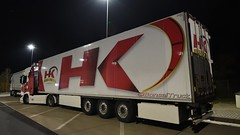 PL - HK Logistic Scania NG R500 HL (BonsaiTruck) Tags: k logistic scania r500 nacht night nuit lkw lastwagen lastzug truck trucks lorry lorries camion caminhoes