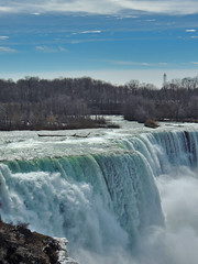 Views From Niagara Falls (George Neat) Tags: niagara falls waterfalls tourism outside scenic scenery landscapes america canada river water unitedstates usa nature natural ny new york wonder landmark georgeneat patriotportraits neatroadtrips