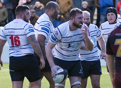 Preston Grasshoppers 22 - 27 Hudderrsfield January 05, 2019 36675.jpg (Mick Craig) Tags: 4g lancashire action hoppers prestongrasshoppers agp preston lightfootgreen union fulwood upthehoppers rugby huddersfield rugger sports uk