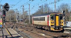 153306. Abellio Greater Anglia Unit, Ipswich, 5th. March 2019. (Crewcastrian) Tags: ipswich railways trains transport 153306 class153 diesel dmu